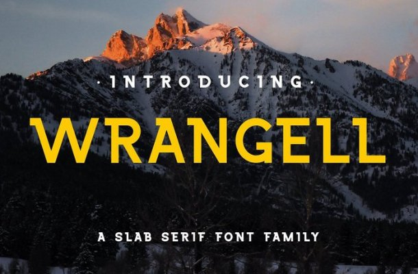 Wrangell Typeface