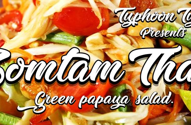 Zomtam Thai Script Font