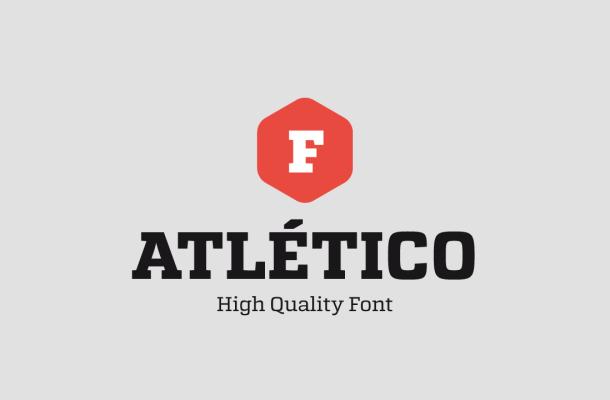 Atletico Font Family