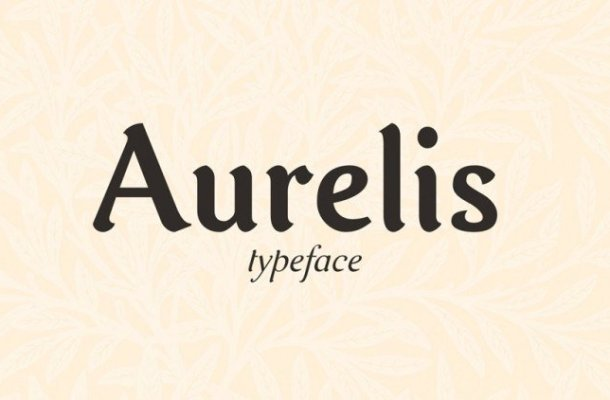 Aurelis Typeface