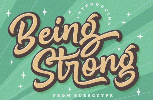 Be Strong Handwritten Font