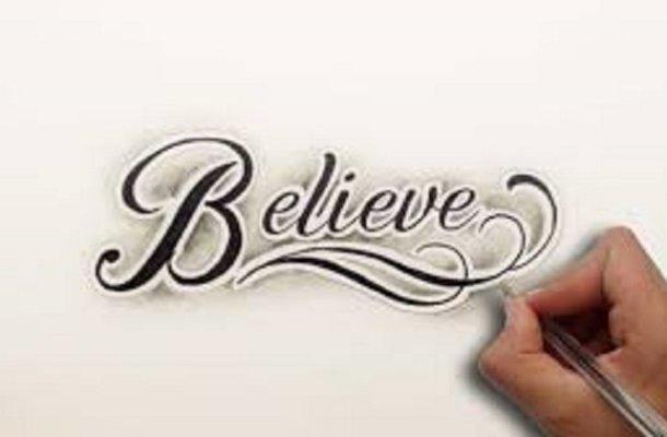 Believe it Font