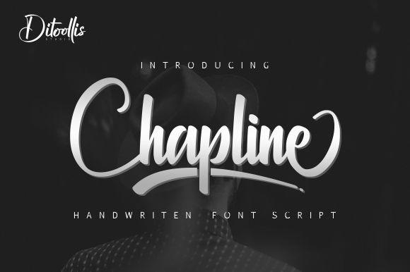 Chapline Script Font
