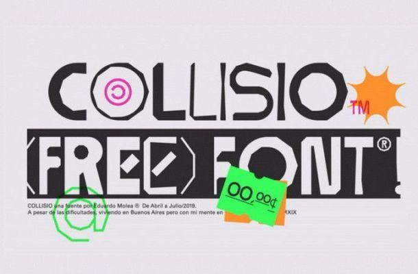 Collisio Free Font