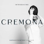 Cremona Sans Font