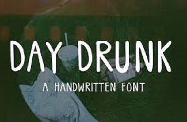 Day Drunk Font