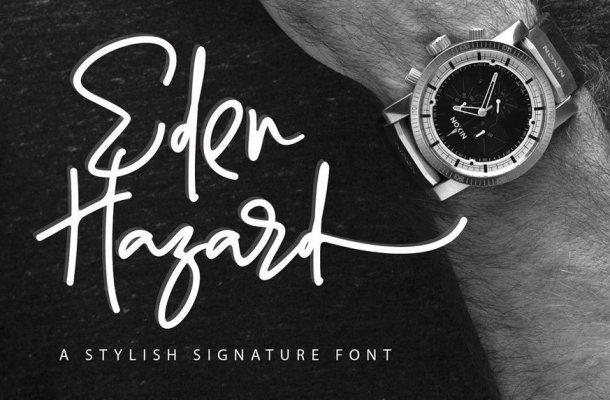 Eden Hazard Font