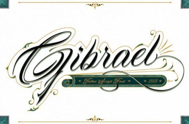 Gibrael Calligraphy Font