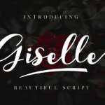 Giselle Calligraphy Font