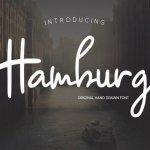 Hamburg Signature Font