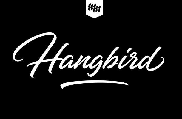 Hangberd Script Font