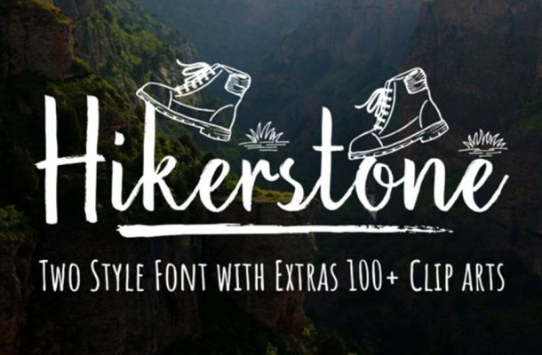 Hikerstone Font Family