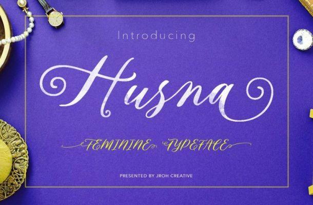 Husna Script Font