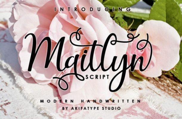Maitlyn Script Font