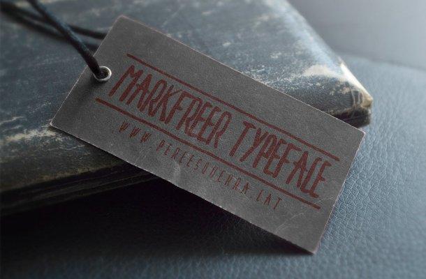 Markfreer Typeface