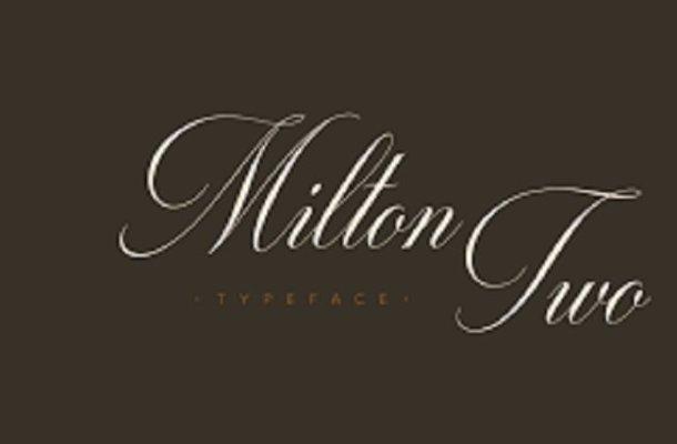 Milton Two Font Family