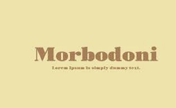 Morbodoni Font