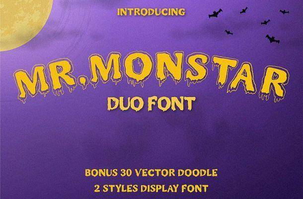 Mr. Monstar Font