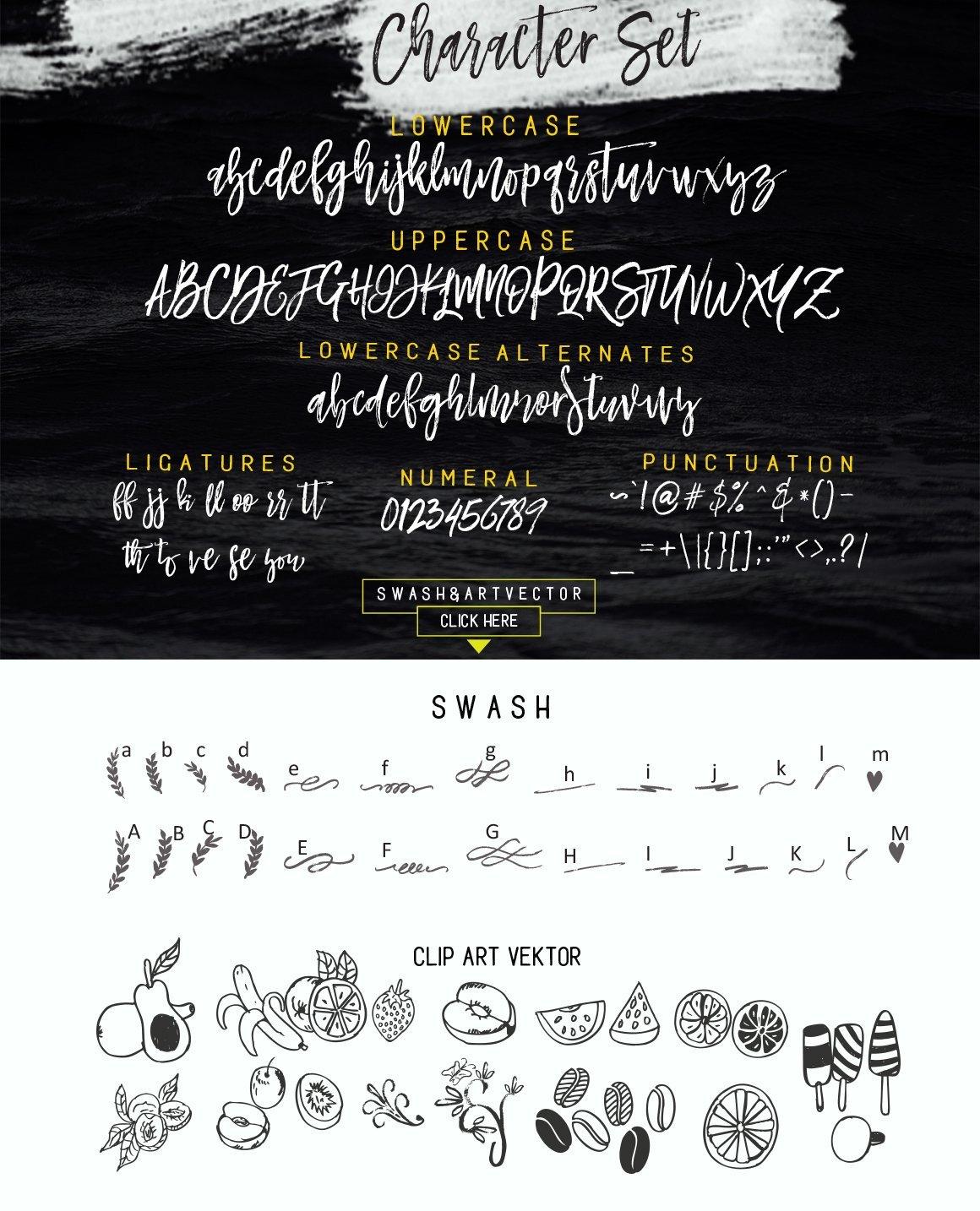 Mustache Script Font 4