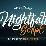 Nightfall Script Font