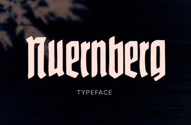 Nuernberg Display Font