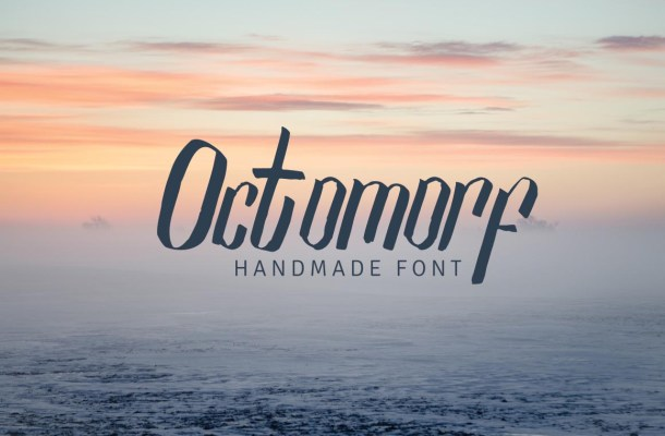 Octomorf Font