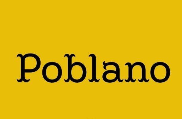 Poblano Font Family