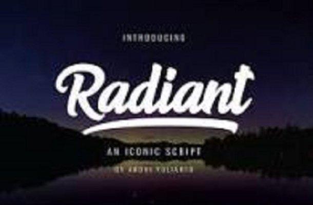 Radiant Font