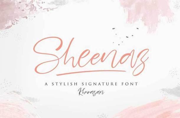Sheenaz Script Font
