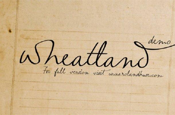 Wheatland font