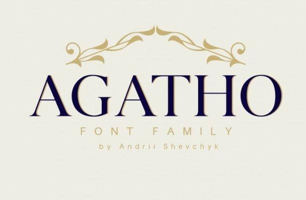 Agatho Font Family