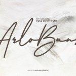 Arlobuns Handwritten Font