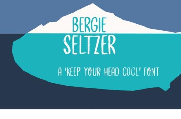 Bergie Seltzer Font
