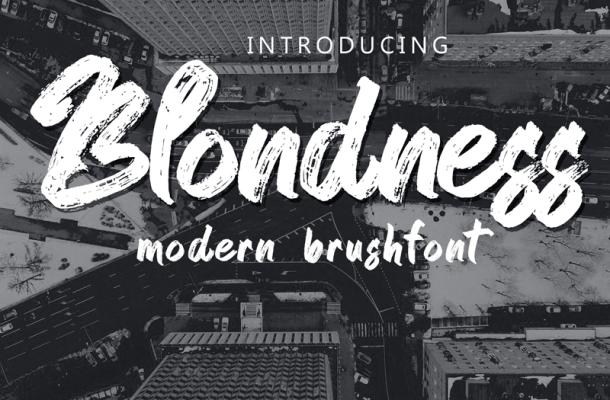 Blondness Font