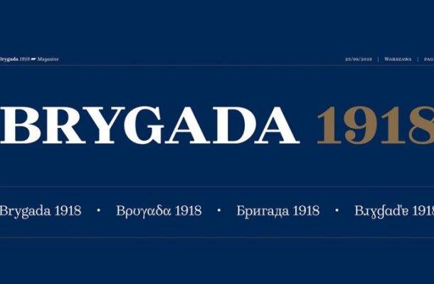 Brygada 1918 Font Family