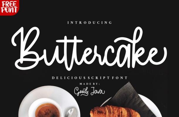 Buttercake Font