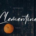 Clementine Script Font