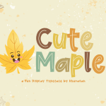 Cute Maple Font