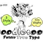 Doodletoon Font
