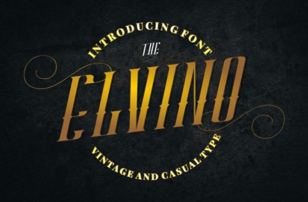 Elvino Typeface