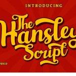 Hansley Font