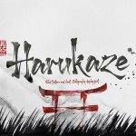 Harukaze Brush Font