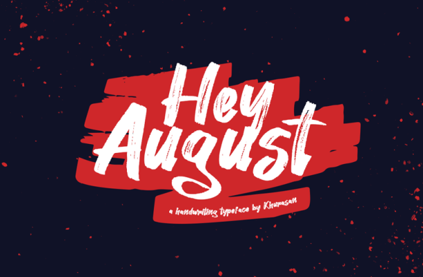 Hey August Font