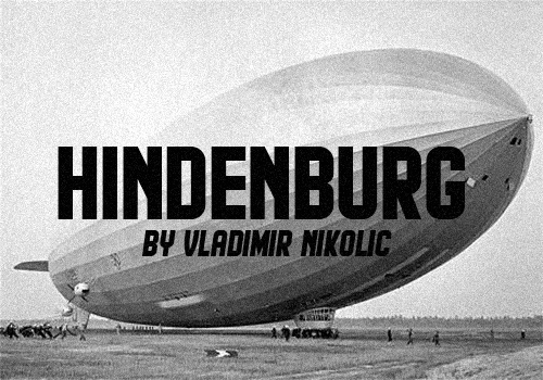 Hindenburg Font