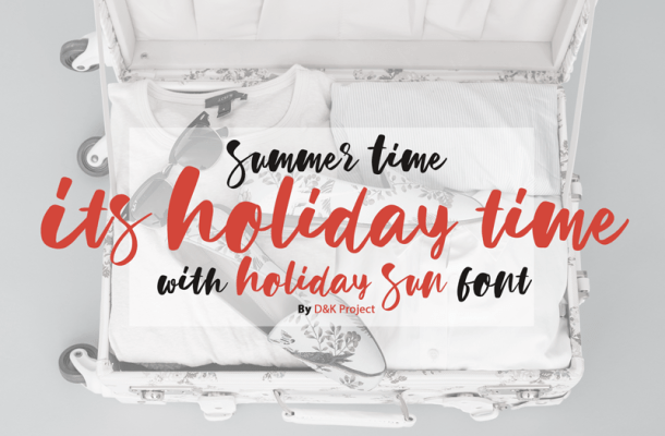 Holiday Sun Font