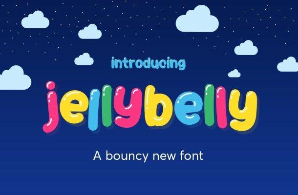 JellyBelly Font