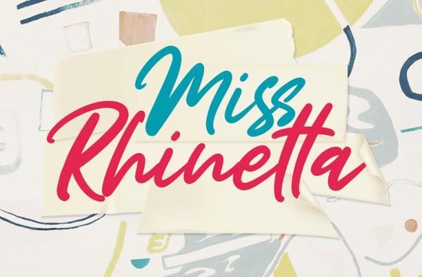 Miss Rhinetta Font