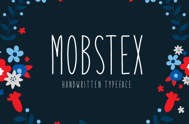 Mobstex Font