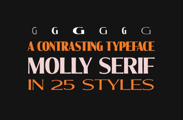 Molly Serif Font