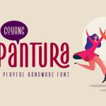 Pantura Display Font